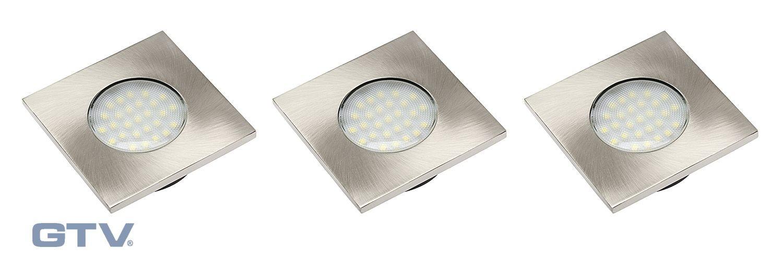 LED SVETILKA MARBELLA 3 x 1,5W TOPLO BELA - 2700K