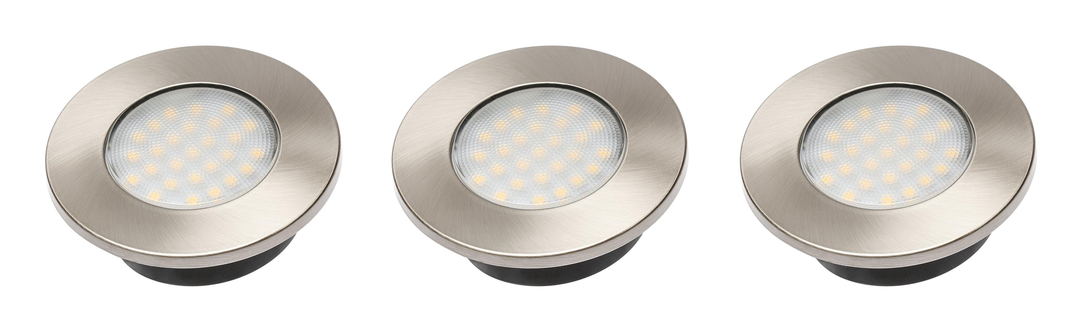 LED SVETILKA BARRI 3 x 1,5W TOPLO BELA - 3000K