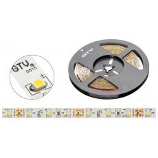 LED TRAK 3528, 60 LED/m, toplo bela - 3200K