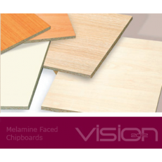 Oplemenitena iverna plošča 2800 x 2070 mm, debeline 12 mm