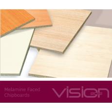 Oplemenitena iverna plošča 2800 x 2070 mm, debeline 25 mm
