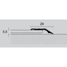 Izravnalna letev z robom 29mm